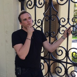 According to Hollywood folk lore, making a wish at the famed Bronson Gate is said to bring good luck. This is me (30lbs ago!) on the Paramount Studio tour in March 2015.