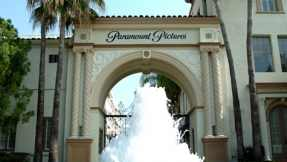 The Bronson Gate at Paramount Pictures as seen today
