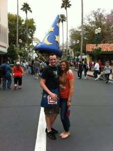 Me and my sister during her first trip to Disney World.