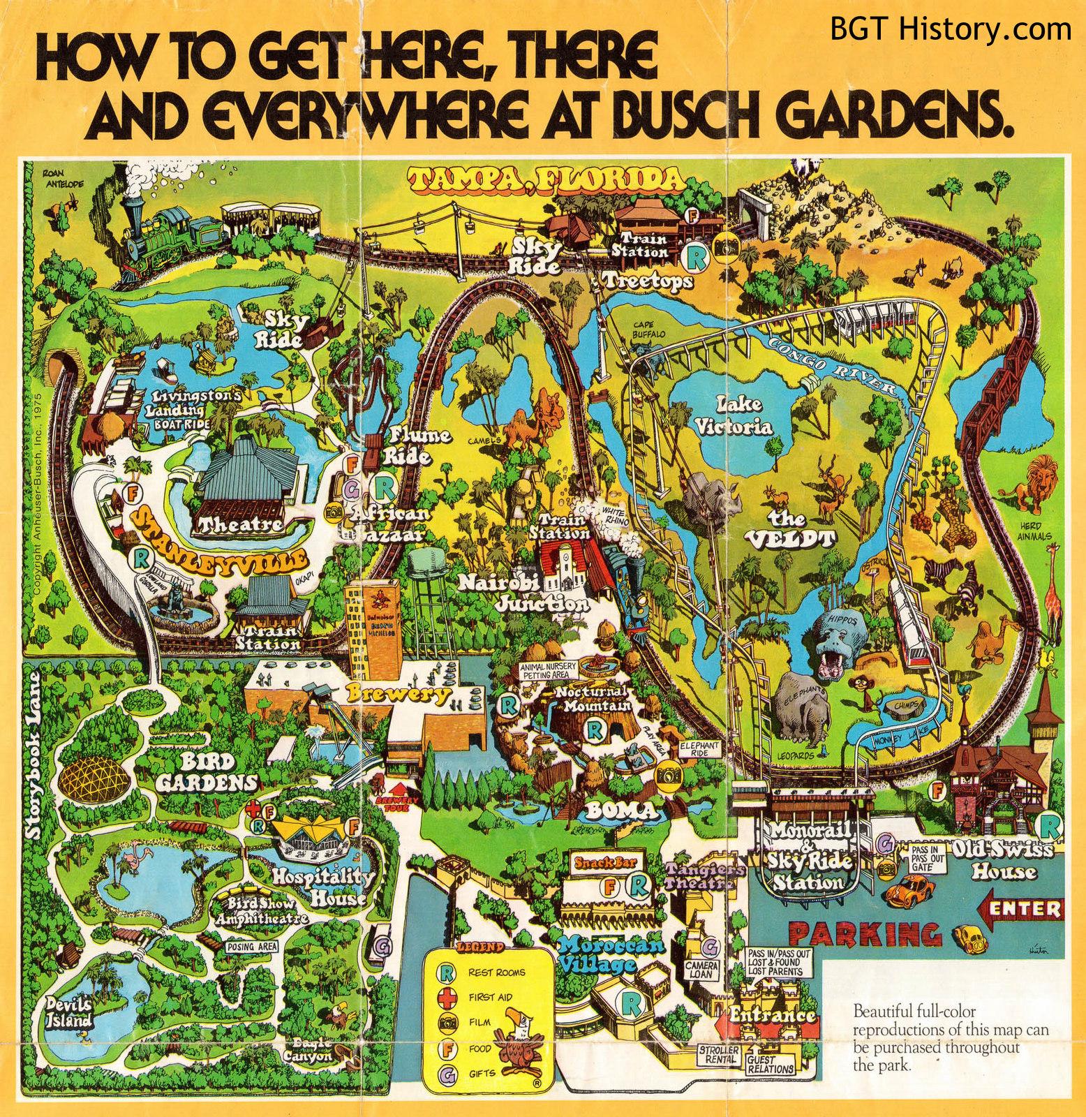 buschgardens70map - Busch Gardens Free Friend Pass 2017